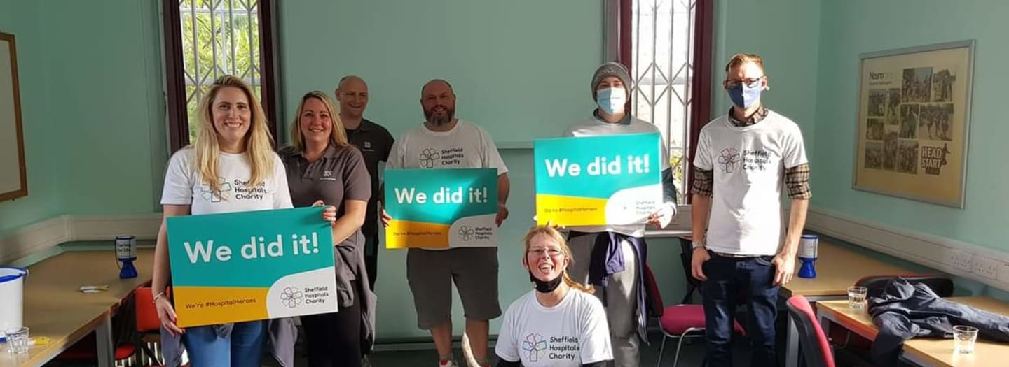 Sheffield Co-op colleagues complete Walk for Wards challenge