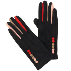 Equilibrium Colourful Fingers Black Boxed Gloves