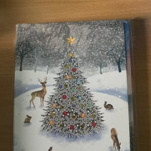 Sheffield Hospitals Charity Christmas Card - Christmas tree