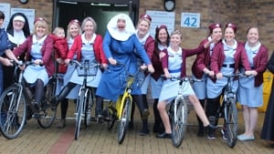 Sheffield hospital staff take inspiration from 'Call the Midwife' in fundraising ride